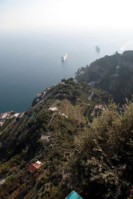 panorama verso Amalfi
