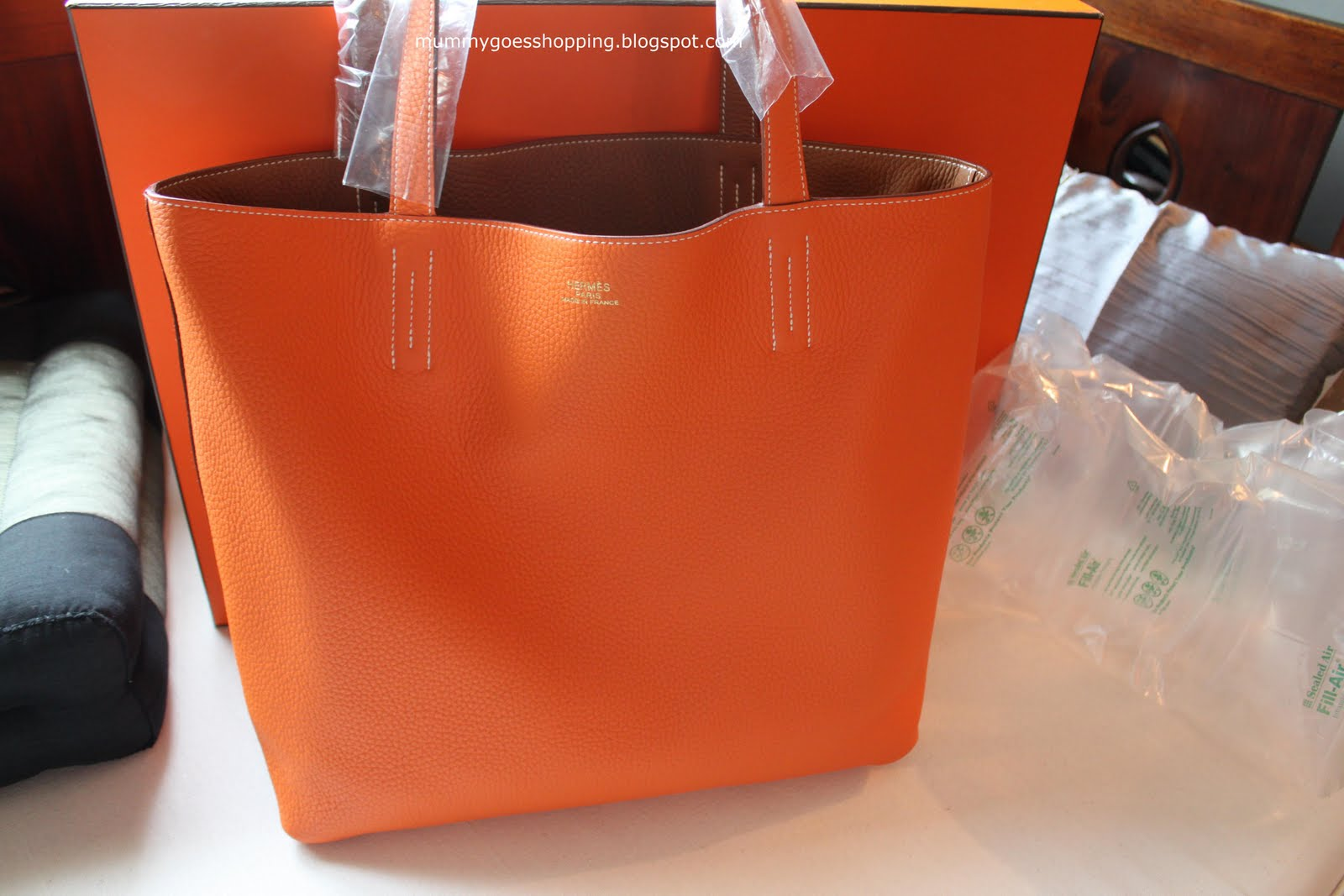 SOLD! Hermes Double Sens Bag