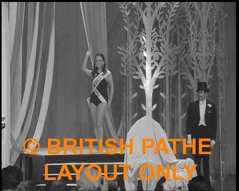 Fotos inéditas de la coronación de Madeleine Hartog Bell, Miss Mundo 1967