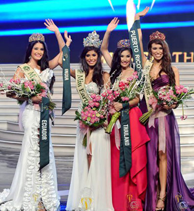 India es la nueva Miss Earth 2010