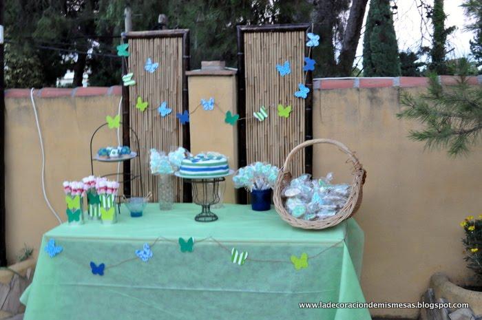 Fiesta de cumplea os en casa la mesa de postres - Menu para fiesta de cumpleanos en casa ...