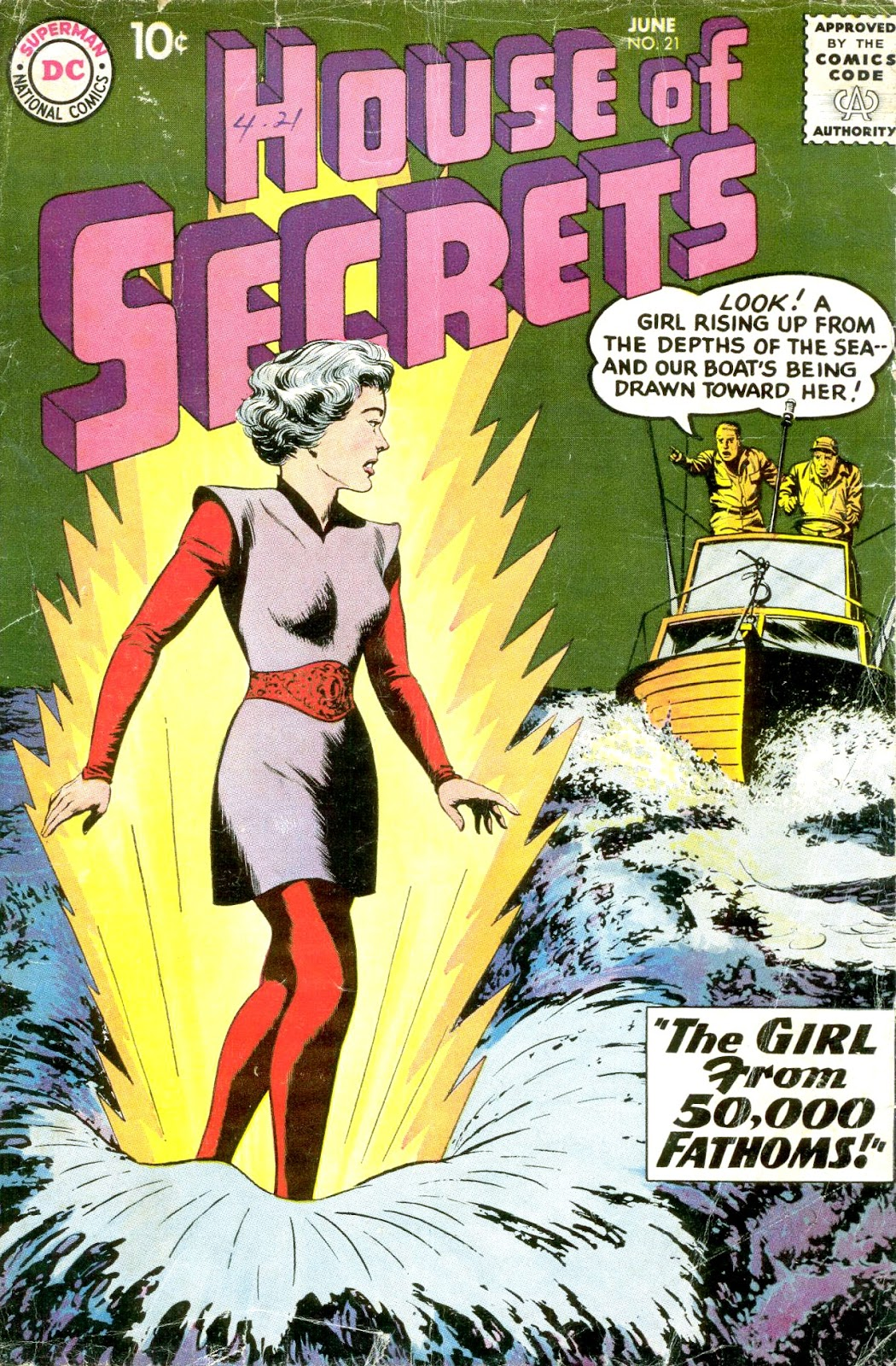 House of Secrets (1956) issue 21 - Page 1