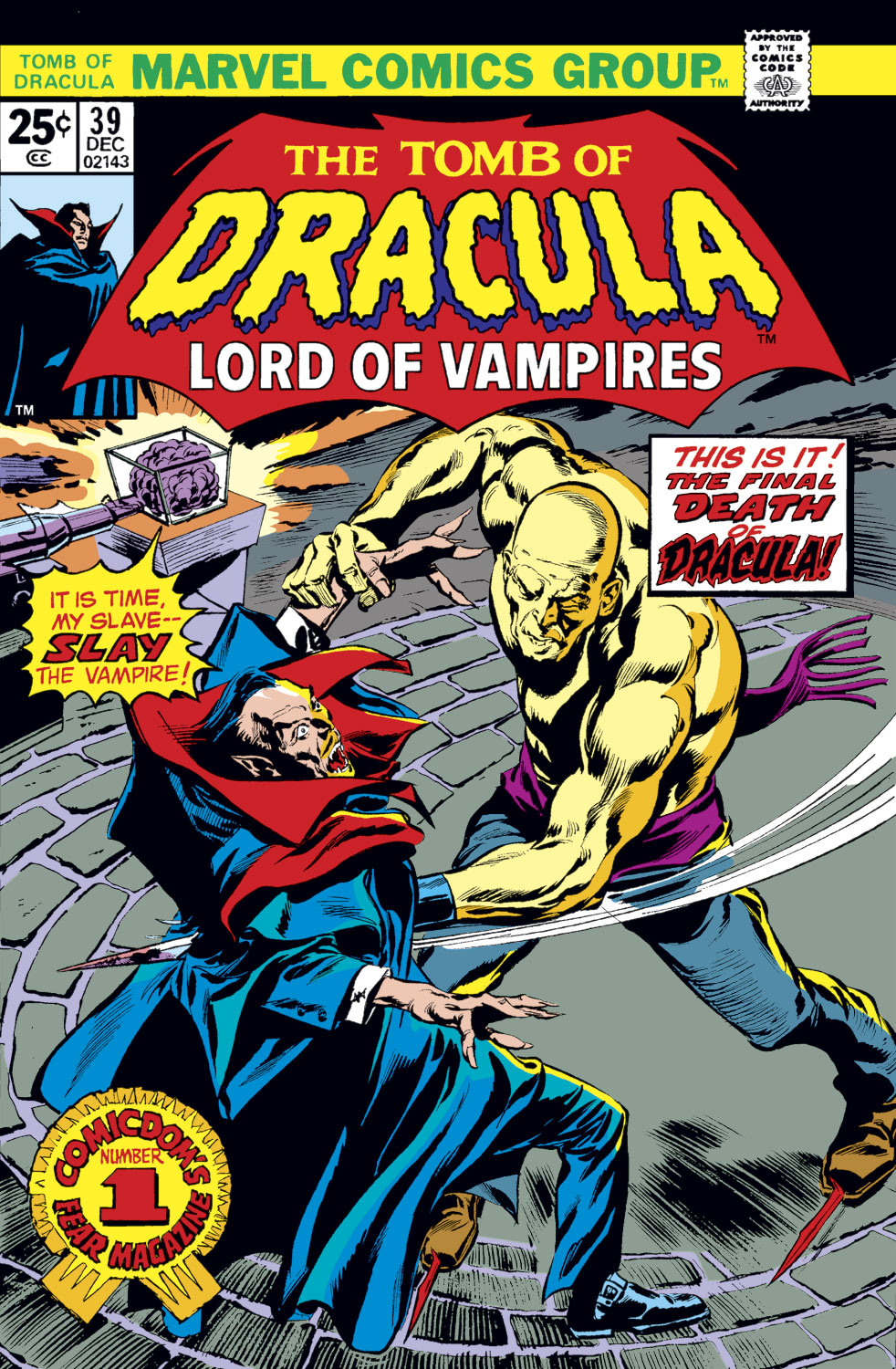 Tomb of Dracula (1972) issue 39 - Page 1