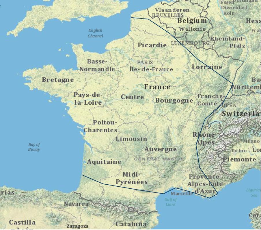 Map Of France 1800.Understanding Society New Modes Of Historical Presentation