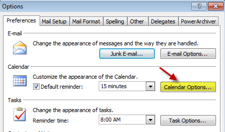 How to add week number into Outlook 2007/2010 calendar