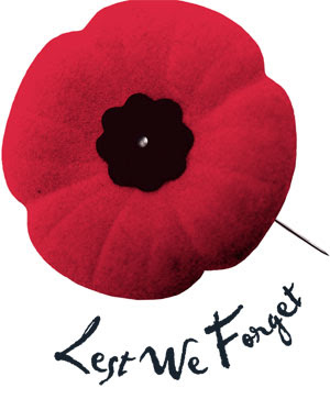 A Day of Remembrance ~ Lest We Forget.