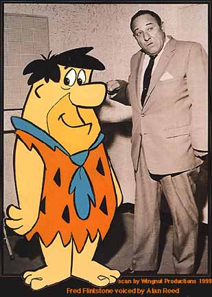 Image result for alan reed and fred flintstone