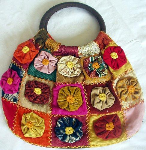Bolsa De Fuxico Artesanato : Sidney artesanato bolsas de fuxico