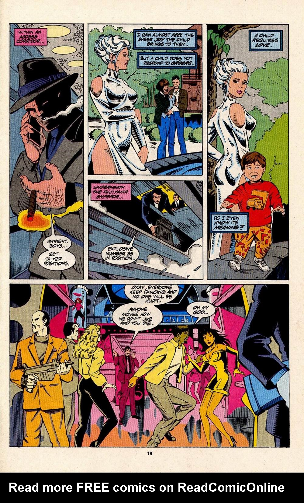 Read online Silver Sable and the Wild Pack comic -  Issue #31 - 16