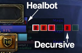 The Art of Solo-ing WoW, life and other games: Decursive - the other