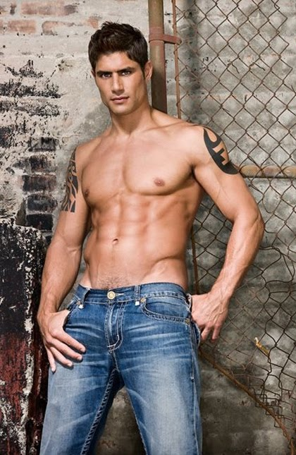 Hunk in Blue Jeans Joel Rush