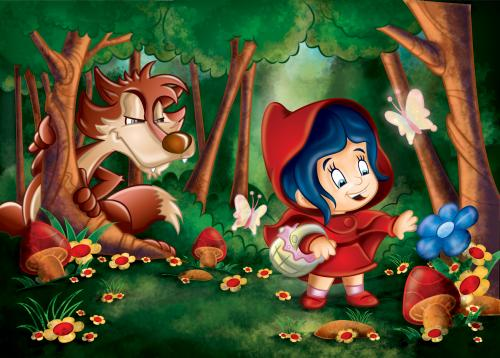 Caperucita Roja Y El Lobo Dibujos