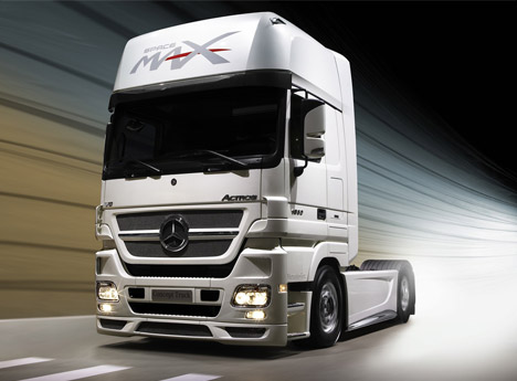 videos de camiones mercedes benz actros