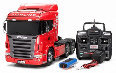 videos de camiones RC Scania highline