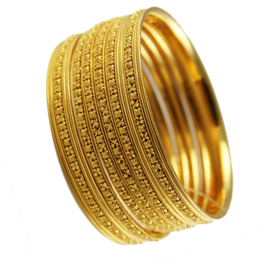 Gold jewellery: Accessories Gold Bangles Designs Trend 2012