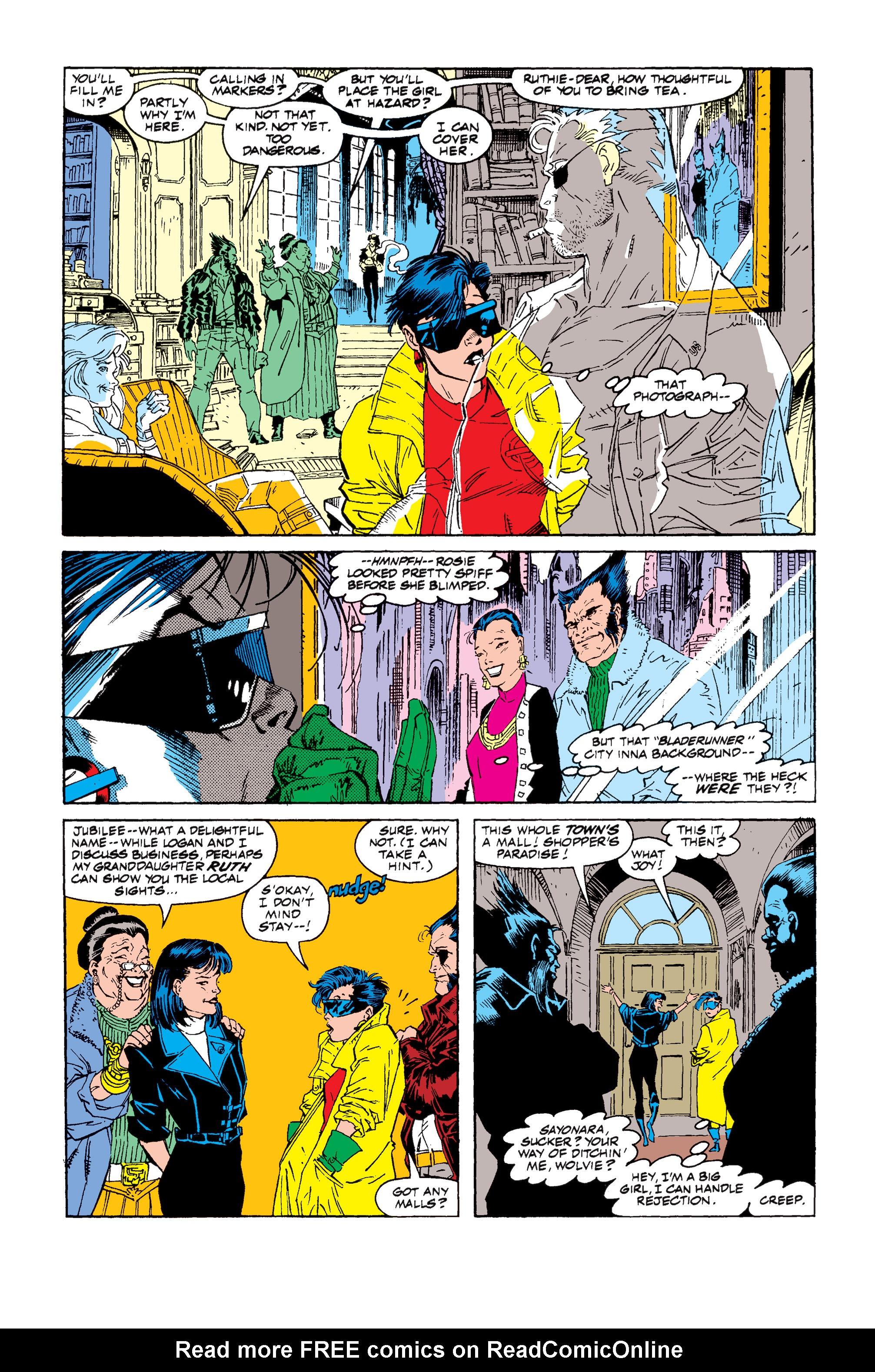 Read online Uncanny X-Men (1963) comic -  Issue #257 - 13
