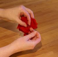 faciles broches de fieltro de flores