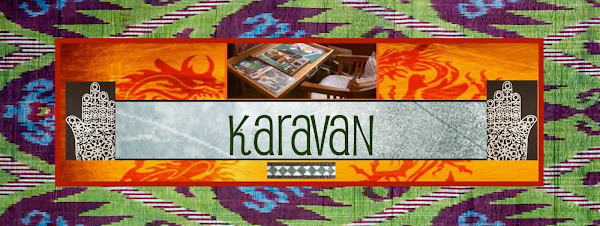 Karavan: in search of creativity inspired by the art and craft of the world.
