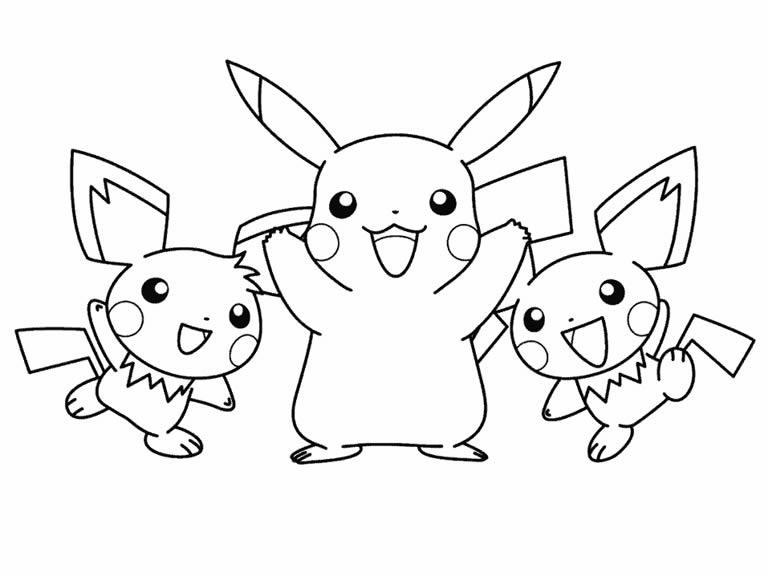 Pz C Desenhos Do Pokemon