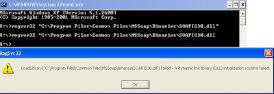 LoadLibrary failed - a DLL initialization routine failed