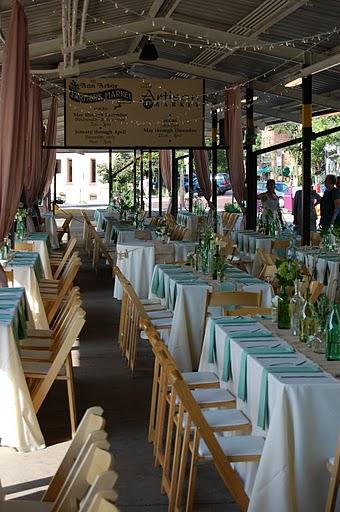 Katherine S Ann Arbor Farmers Market Wedding