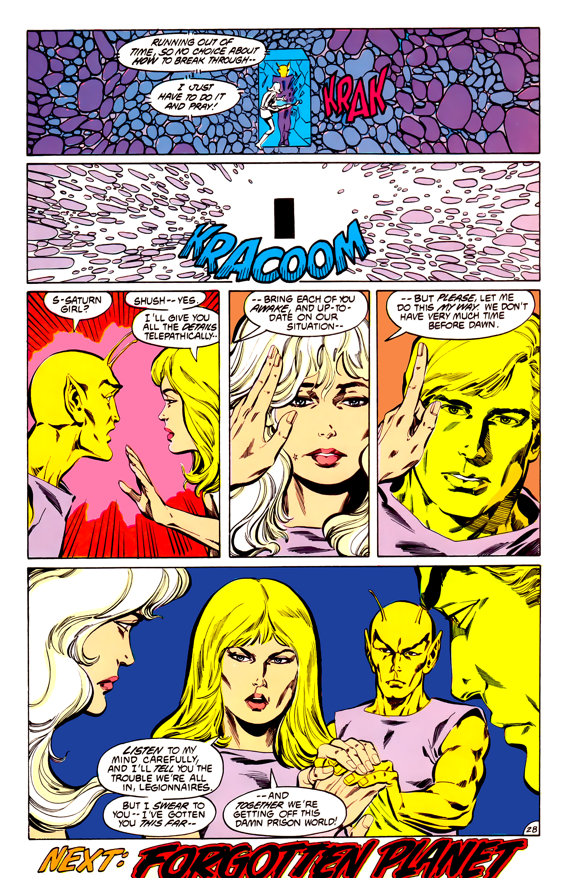 Legion of Super-Heroes (1984) 32 Page 27
