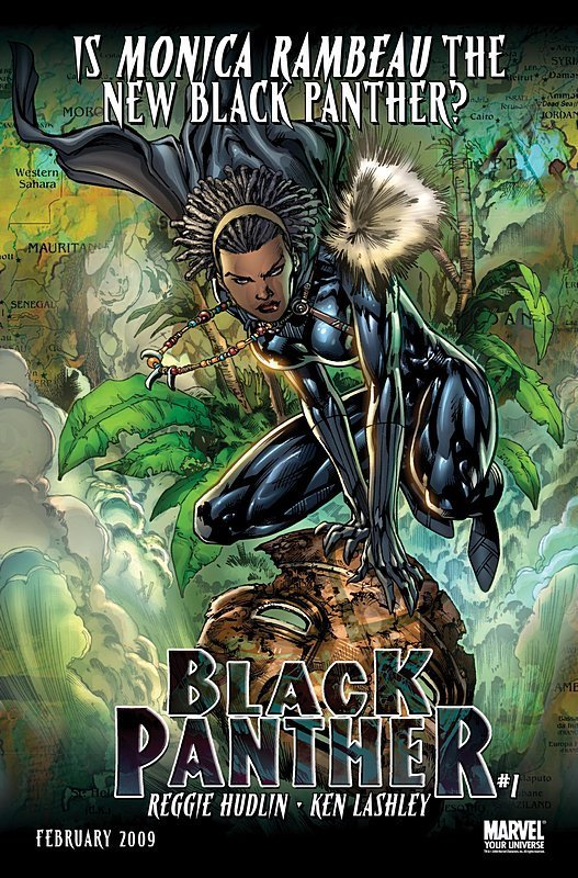 Monica Rambeau the new Black Panther?