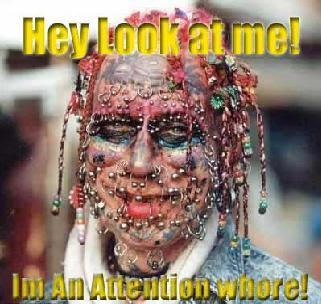 527744367 Hip Suburban White Guy: Tattoos and Piercings