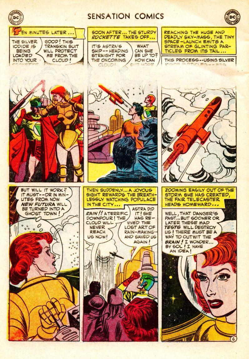 Read online Sensation (Mystery) Comics comic -  Issue #106 - 30