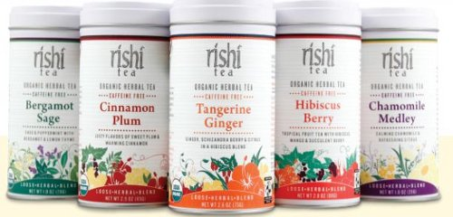 Rishi Tea Announces New Environmentally Friendly Reusable Tins