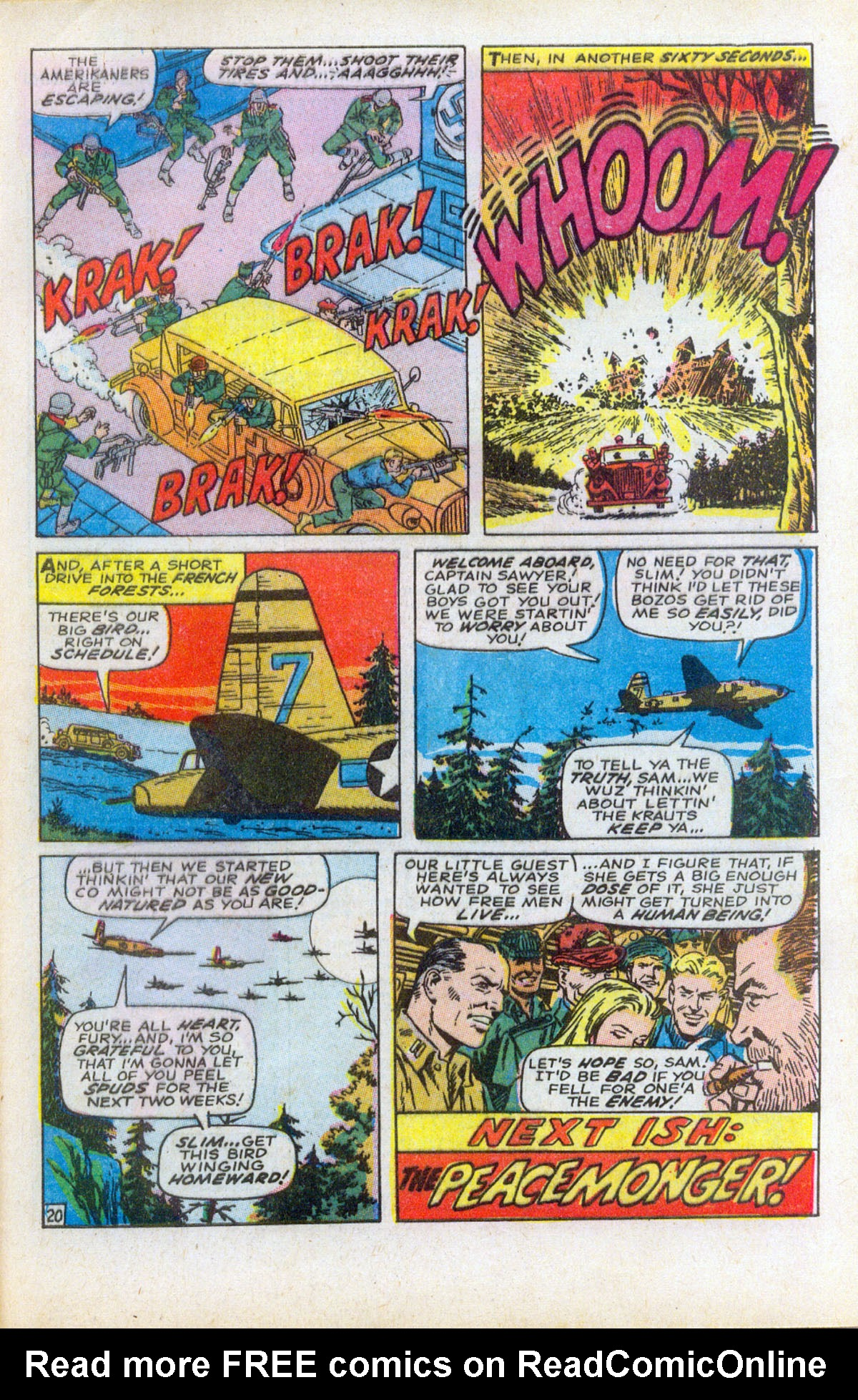 Read online Sgt. Fury comic -  Issue #61 - 29