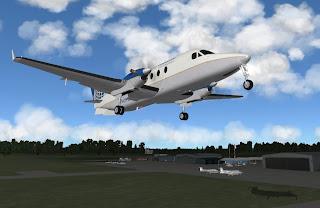 Urban's X-Plane experience: Beech B1900 Foothills Regional
