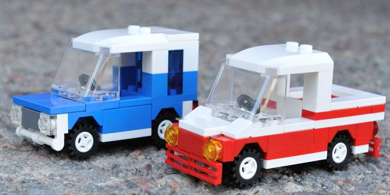 Urban's blog: Two small Lego cars