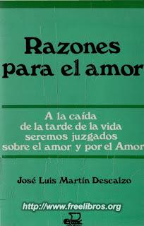 Razones Para El Amor – Martin Descalzo Jose Luis