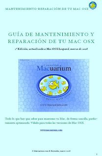 Guía De Mantenimiento y Reparación De Tu Mac OSX