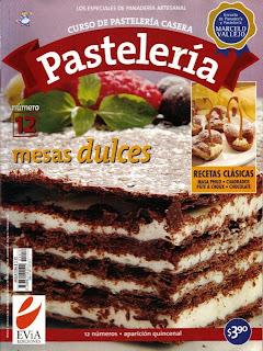 Curso de Pastelería Casera Mesas delces Nro. 12