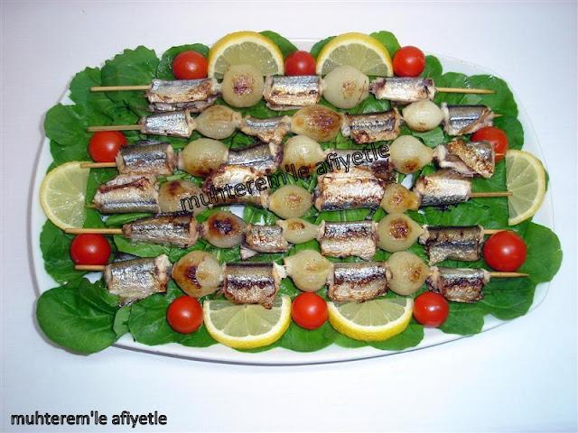 şişte zargana balığı