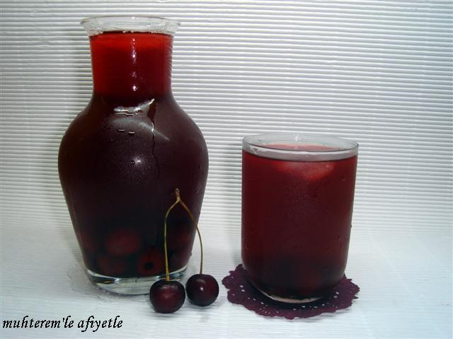 vişneli içecek tarifi