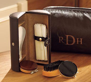 Leather Shoe Shine Kit