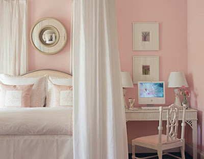 Pink blush bedroom by A Gift-Wrapped Life