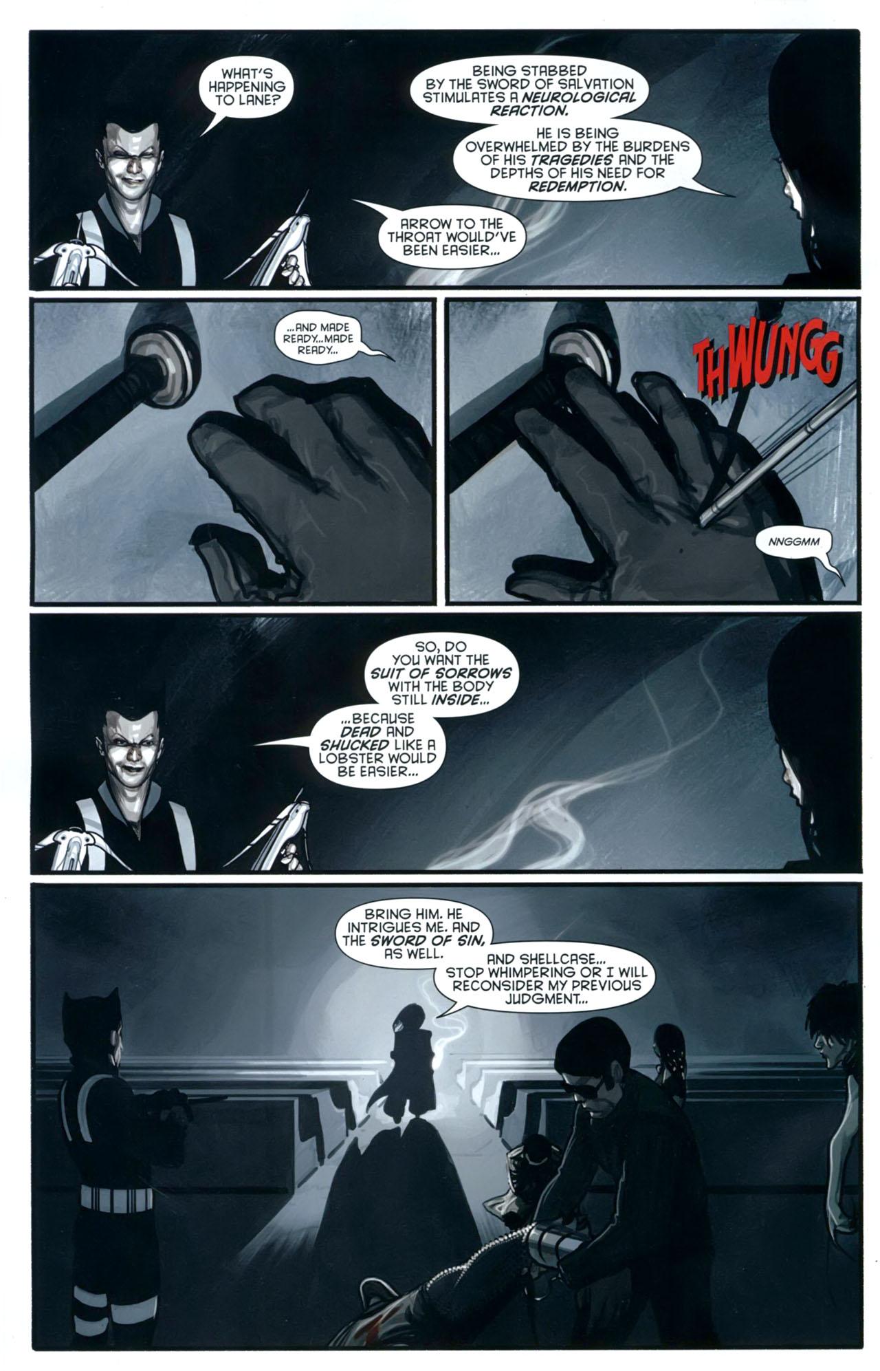 Read online Azrael: Death's Dark Knight comic -  Issue #2 - 7