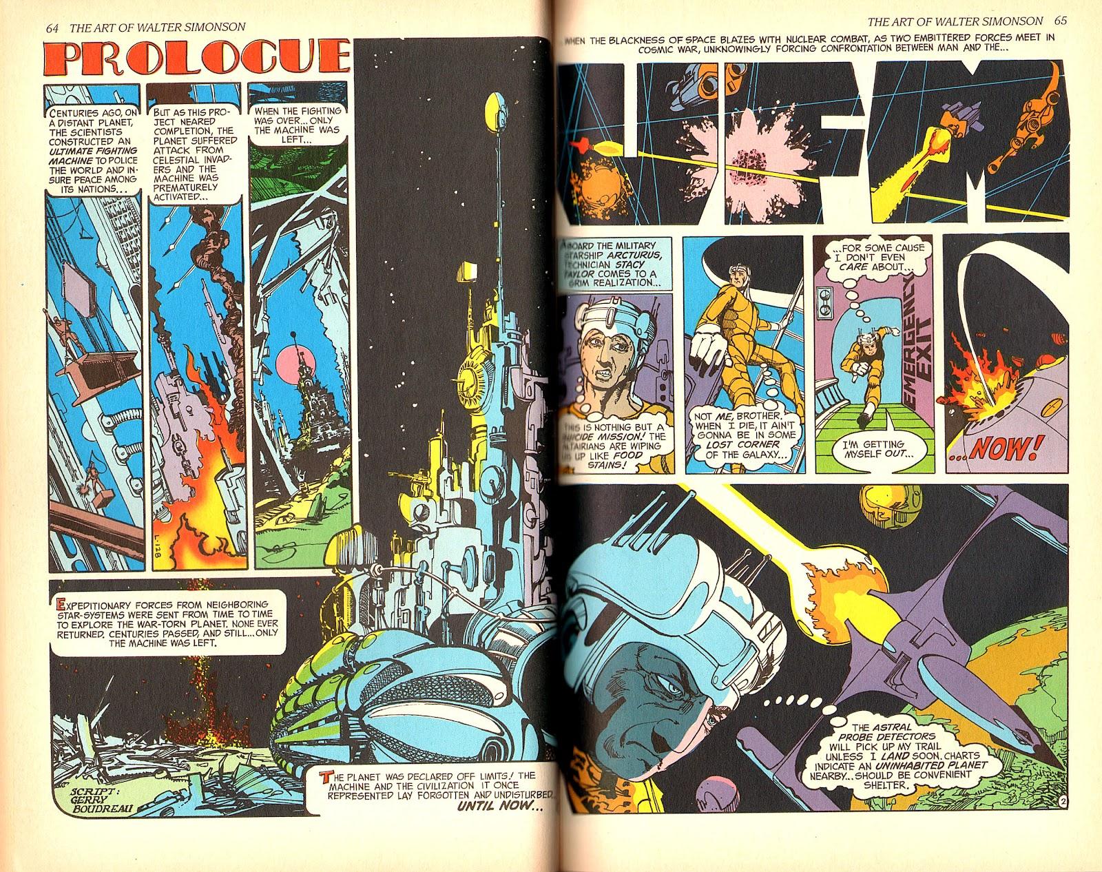 Read online The Art of Walter Simonson comic -  Issue # TPB - 34