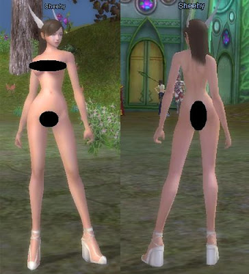 Perfect world nude mod