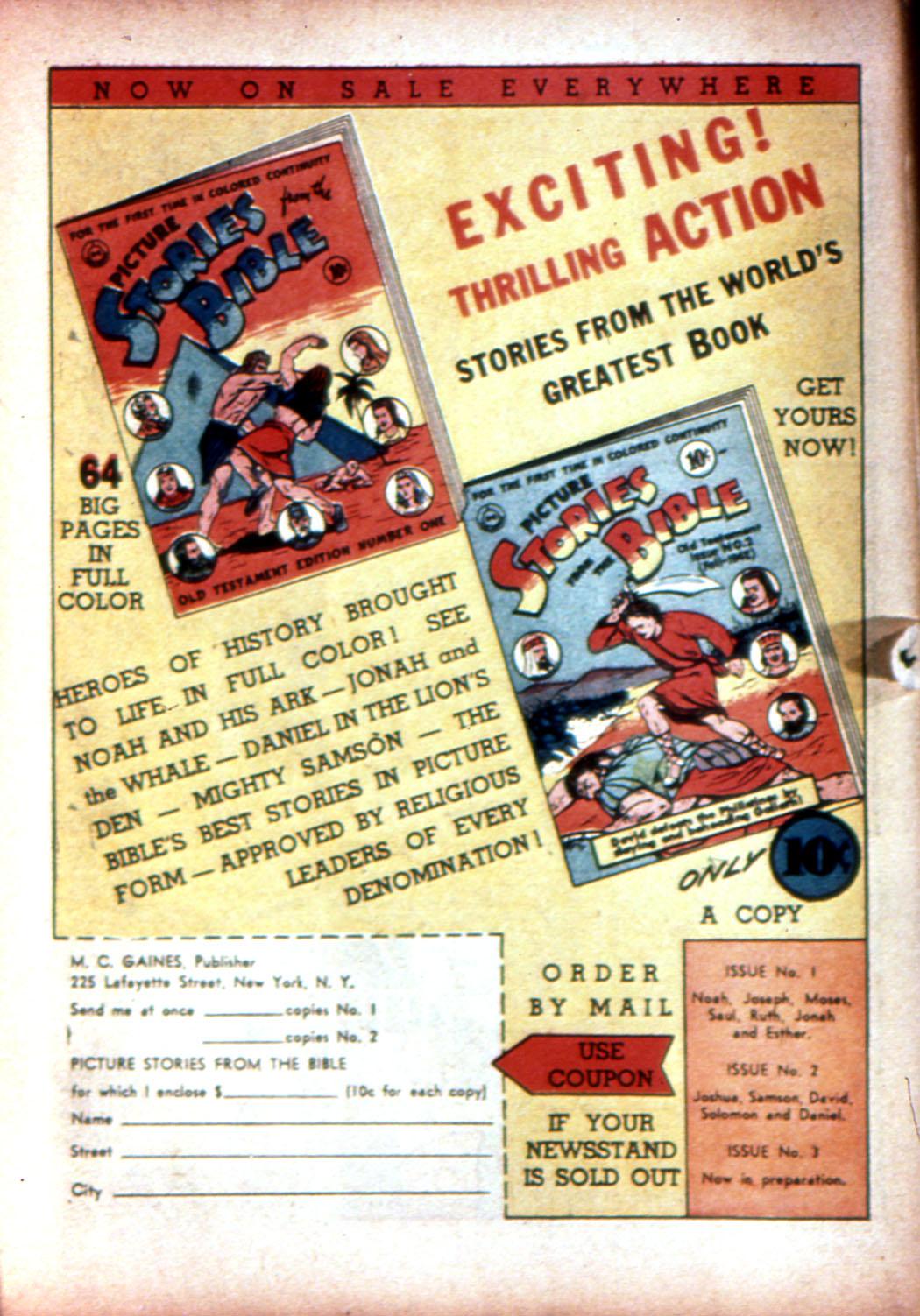 Read online Sensation (Mystery) Comics comic -  Issue #17 - 66