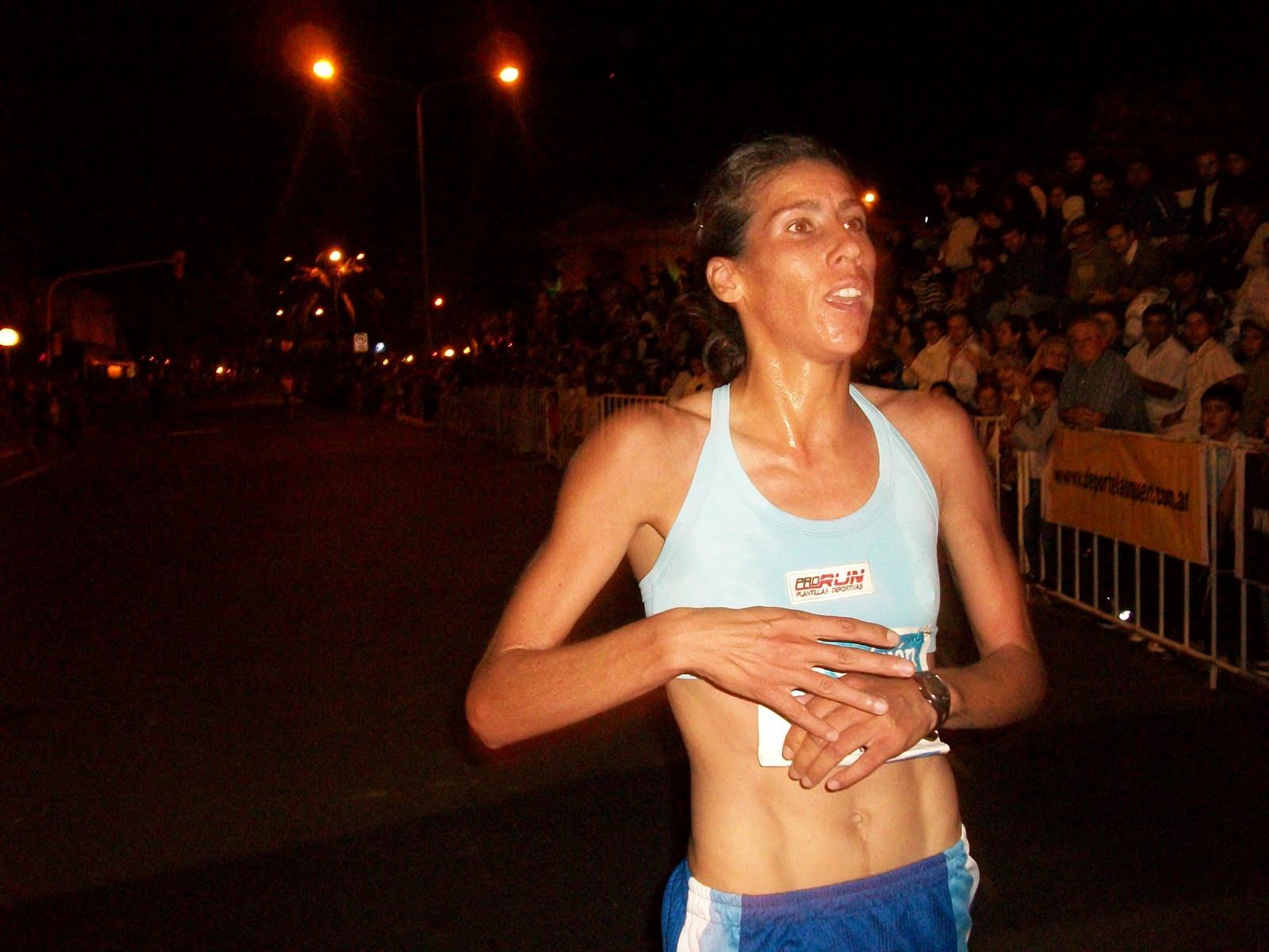Atleta Argentina Raquel Maraviglia