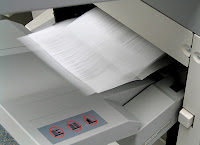 photocopier at the workplace