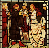 Medieval marriage ceremony