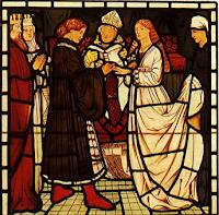 Medieval marriage ceremony