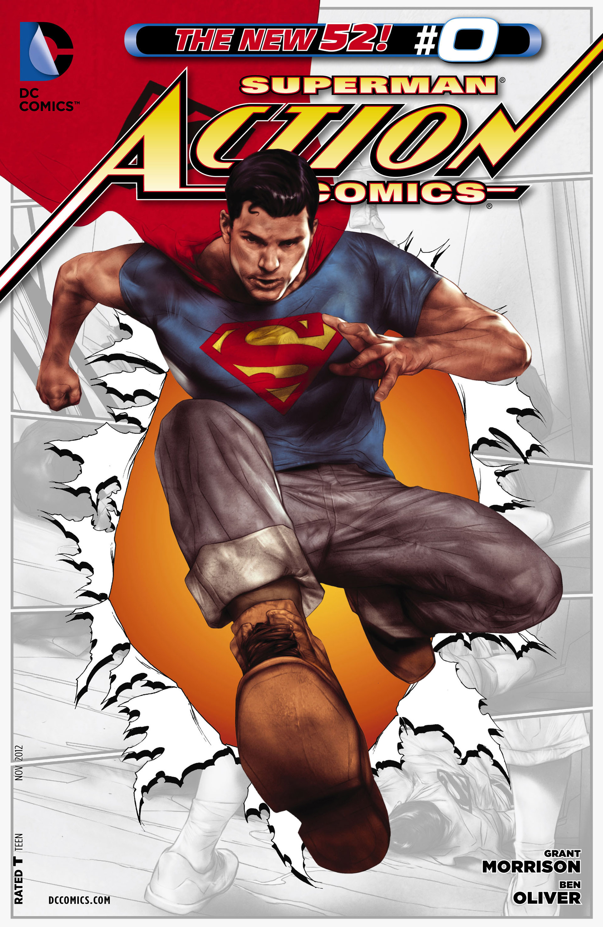 Action Comics (2011) 0 Page 1