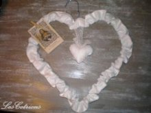Cotton and wire heart!